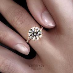 Ideal Cut Diamond, Diamond Cuts, Diamond Solitaire Rings, Diamond Engagement Rings, Ring Video, Heart With Arrow, Proposal Ring, Engagement Inspiration, Diamond Jewellery