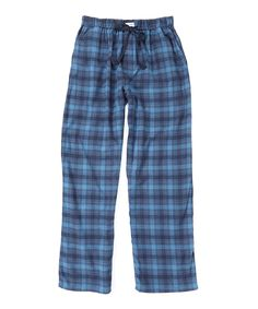 This Blue Plaid Lounge Pants by Ben Sherman is perfect! #zulilyfinds