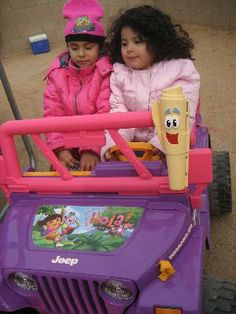 the ride-on toy is so fun for young girls