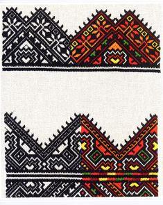 FolkCostume&Embroidery: Nyzynka embroidery of western Ukraine