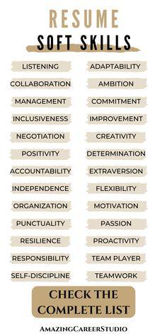 Resume Skills List, Resume Skills Section, Resume Advice, Resume Writing Tips, List Of Skills, Career Advice, Job Interview Answers, Job Interview Preparation, Resume Words