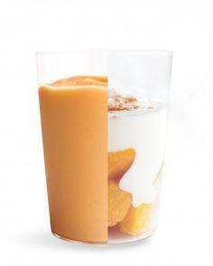 Mango and Yogurt Smoothie