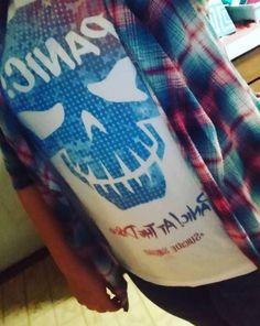 PANIC! // Panic! At The Disco DC Comics Suicide Squad T-Shirt