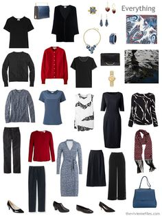 Capsule Wardrobe based on art - Cow's Skull: Red White and Blue by Georgia O'Keeffe