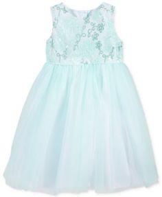 Marmellata Little Girls' Sequin-to-Tulle Dress | macys.com