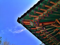 Korea traditional roof