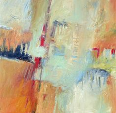 The Harbor [Abstract Expressionism-A6111] - $500.00 painting by oilpaintingsartmaker.com