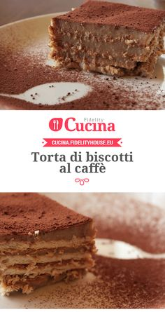 #Torta di biscotti al #caffè della nostra utente Sanny. Unisciti alla nostra Community ed invia le tue ricette!