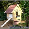 My kind of chicken coop! via Bricoles - Somewhere over the rainbow
