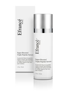 Triple peptides go to work on your skin. This Super Boosted triple peptide serum tricks your skin into creating collagen giving you smooth and velvety feeling skin. Combats wrinkles, hyper-pigmentation, and is natural, vegan friendly and not tested on animals, and also and more importantly is made in the USA--not imported from China. The website and product go live on June 1st 2016