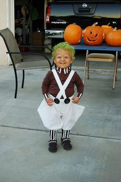 Best kids Halloween costume ever! Oompa Loopa  sc 1 st  Pinterest & diy toddler oompa loompa costume | Lifeu0027s Sweetest Little Blessings ...