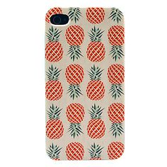 Ananas Pattern Hard Case voor iPhone 4/4S – EUR € 0.99