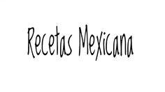portada recetas mexicana