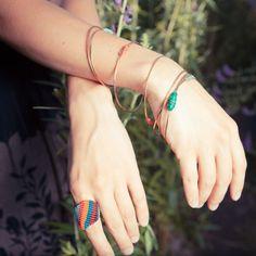 AMiRA jewelry, made in Portland, Oregon. 2014 Martha Stewart American Made Finalist. (O/usa)