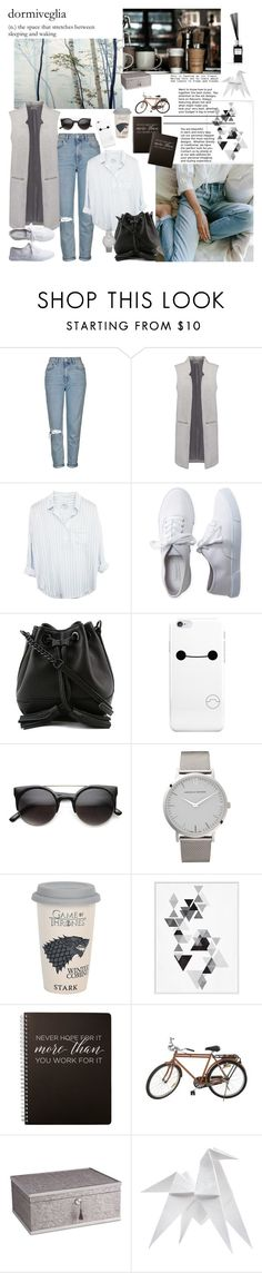"""""""...more than"""" by mariettamyan ❤ liked on Polyvore featuring Topshop, Aéropostale, Rebecca Minkoff, Larsson & Jennings, Jayson Home, Fortuny, Hermès and Welton"""