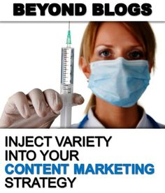 New Post: Inject Variety Into Your Content Marketing Strategy
