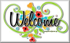 Animated Glitter Graphics welcome | Glitter Text » Welcome » Welcome