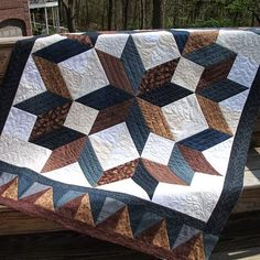 Carpenter Star Quilt (free Pattern)
