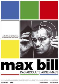Verlosung: 10 Plakate zu Max Bill-Film | Slanted - Typo Weblog und Magazin