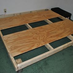CHEAP DIY Bed Frame.