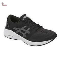 best loved 0caa3 11238 Asics Roadhawk Ff Gs, Chaussures de Gymnastique Mixte Enfant, Noir  (Black White