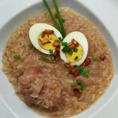 Lugaw, traditional Filipino breakfast