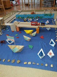 Motor Skills Activities, Sea Crafts, Craft Corner, Button Art, Montessori, Transportation, Crafts For Kids, Preschool, Clip Art