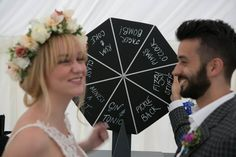 Spin the Wheel of Fun! - 24 Entertaining Wedding Reception Games - EverAfterGuide