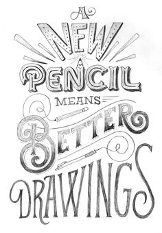 New Pencil on Behance