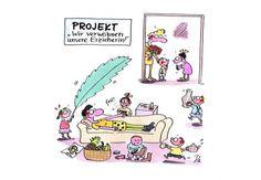 Kindergarten_KiGaPortal_Cartoon_Renate Alf_Verwoehntag