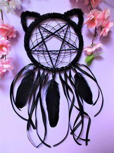 Check out this item in my Etsy shop https://www.etsy.com/listing/600915620/dreamcatcher-kitten-familiar