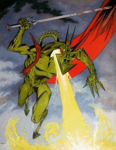 Kevin O'Neill_Nemesis original art for Titan edition