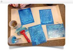 Printing mark making