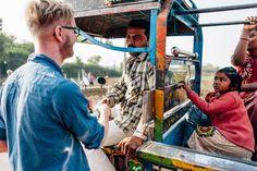 Begegnungen. Rundreise durch den Bundesstaat Gujarat in Indien. Unterwegs mit Roteltours. Reiseblog von Marion und Daniel.