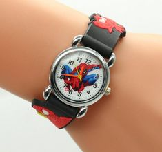 Watches Hot Sale Fashion Spiderman Watches Children Watch Cute Cartoon Watch Kids Cool 3d Silicone Quartz Watch Relogio Clock Hour Gift Making Things Convenient For The People