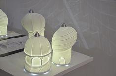 Smoon City - Beau&Bien   Lampe Porcelaine de Limoges   Design Français Lampe LED
