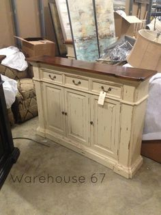 Roosevelt 3 Drawer Narrow Buffet Here At Warehouse 67 Only 989 SideboardBuffet