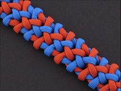 How to Make the Grapevine Sinnet (Paracord) Bracelet by TIAT - YouTube