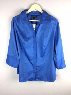 a08ff4647e Lane Bryant- Women s 3 4 Sleeve Button Up