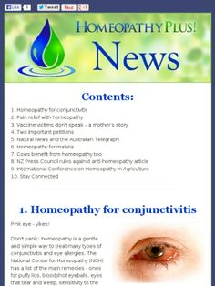 Check out this Mad Mimi newsletter - see dali48 and Homeopathy since the 80s etc...