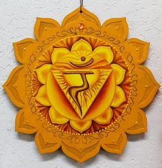 3rd Chakra Manipura chakra Solar Plexus Yellow by LoriFelixArtwork