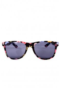 12c592ee67a Retro Floral Frame Sunglasses Retro Sunglasses