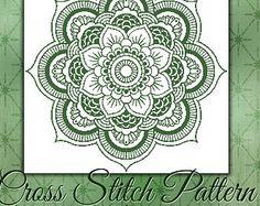 cross stitch pattern geometric – Etsy NL