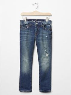 1969 destructed slim fit jeans