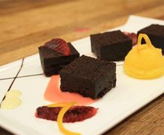 Flourless Chocolate Cake (gluten free) by the Fairmont Newport Beach