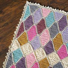 Ravelry: Gemma Blanket pattern by Rachele Carmona