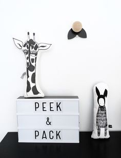 Peek and Pack, A Small Universe Made of Art - Petit & Small