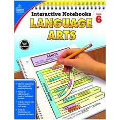 INTERACTIVE NOTEBOOKS LANGUAGE ARTS GRADE 6