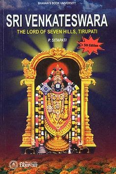 A very worthwhile book to read for all bhakthas of Balaji-Venkatesa. It is quite detailed, but provides a wide range of facts about the Srivari Temple, the Icons and Tirumala itself. Definitely worth the read! Ref: http://www.exoticindiaart.com/book/details/sri-venkateswara-lord-of-seven-hills-tirupati-IDE336/