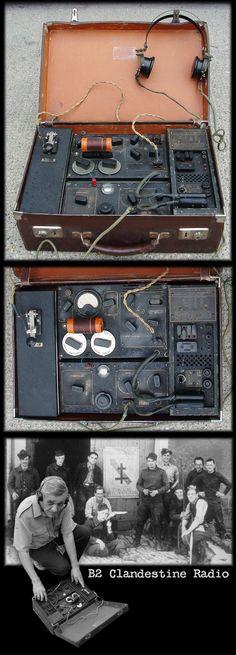 WWII B2 British Spy Radio